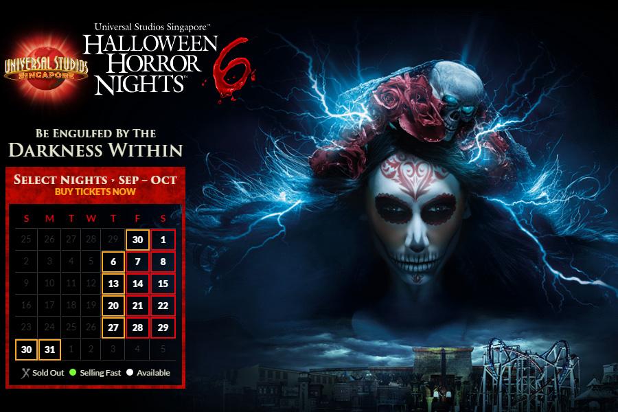 คืนหลอน วิญญาณโหด Halloween Horror Nights 6 ที่ Universal Studios Singapore