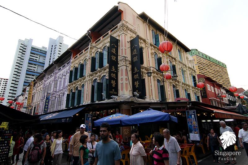 เลือกซื้อของที่ระลึก ใน China Town ประเทศสิงคโปร์